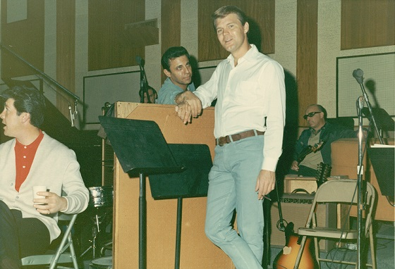 Glen Campbell and Hal Blaine in THE WRECKING CREW, a Magnolia Pictures release.  Photo courtesy of Magnolia Pictures.