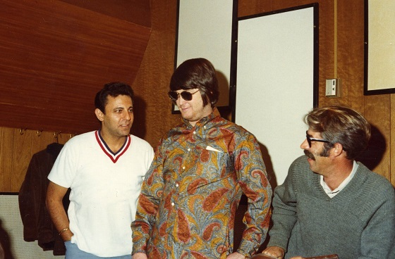 Hal Blaine, Brian Wilson and Ray Pohlman in THE WRECKING CREW, a Magnolia Pictures release.  Photo courtesy of Magnolia Pictures.