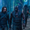 Michael Sheen (left) and Kevin Grevioux star in Screen Gems' action thriller UNDERWORLD: RISE OF THE LYCANS.