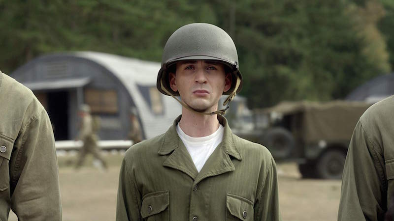 Chris Evans in Captain America- The First Avenger (2011)