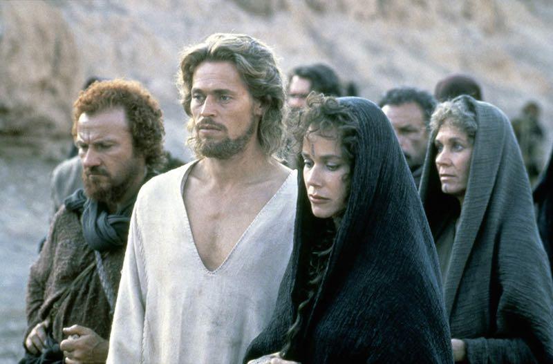 Harvey Keitel, Willem Dafoe, Barbara Hershey, and Verna Bloom in The Last Temptation of Christ (1988)