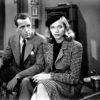 Lauren Bacall and Humphrey Bogart in The Big Sleep (1946)