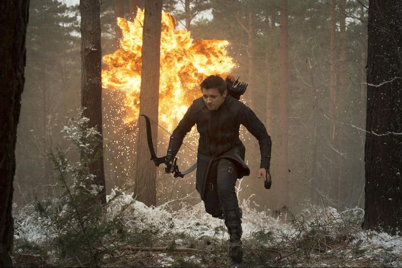 Jeremy Renner in Avengers- Age of Ultron (2015)