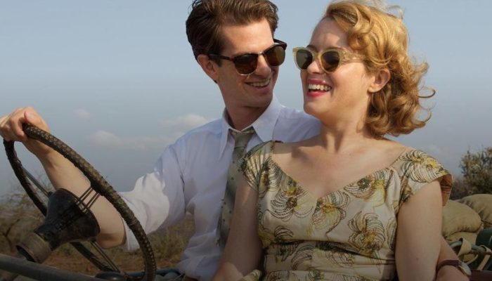 Andrew Garfield and Claire Foy in Breathe 2017, the story of Robin Cavendish