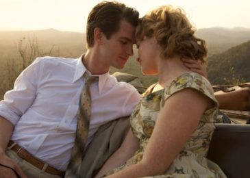 Andrew Garfield and Claire Foy in Breathe.