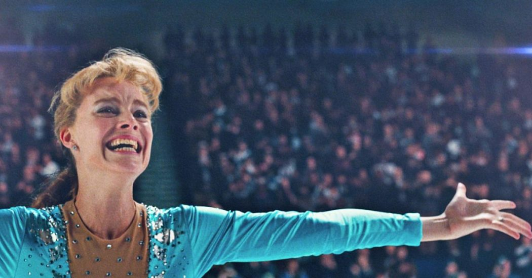 Margot Robbie as Tonya Harding in 'I, Tonya.'