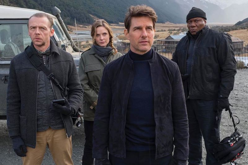 Tom Cruise, Ving Rhames, Rebecca Ferguson, and Simon Pegg in Mission- Impossible - Fallout (2018)