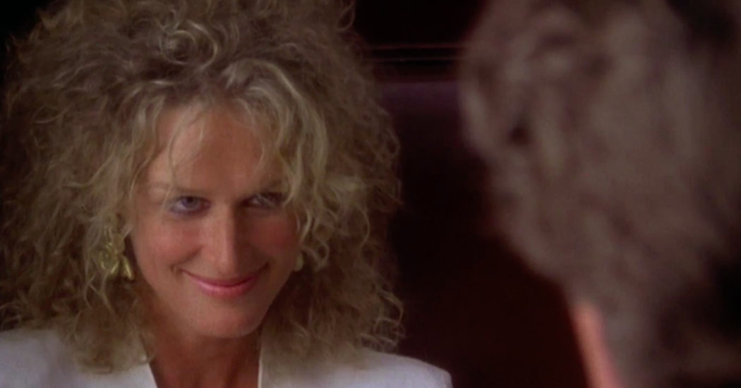 Glenn Close in 'Fatal Attraction.'