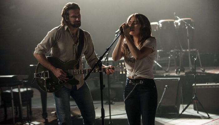 Bradley Cooper and Lady Gaga in 'A Star Is Born,' image courtesy Warner Bros. Pictures/Metro-Goldwyn-Mayer.
