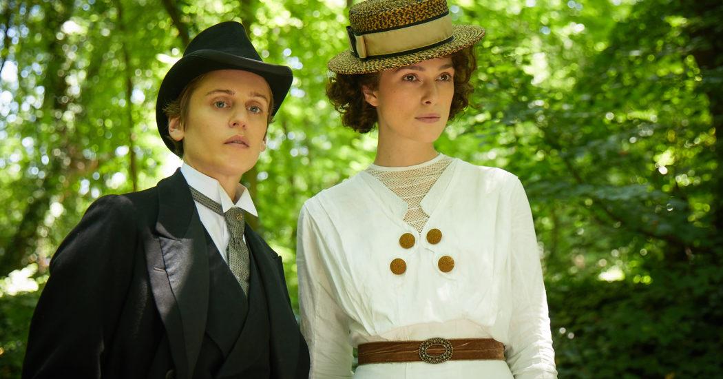 Denise Gough stars as Missy and Keira Knightley as Colette in 'Colette,' a Bleecker Street release. Credit: Robert Viglasky/Bleecker Street