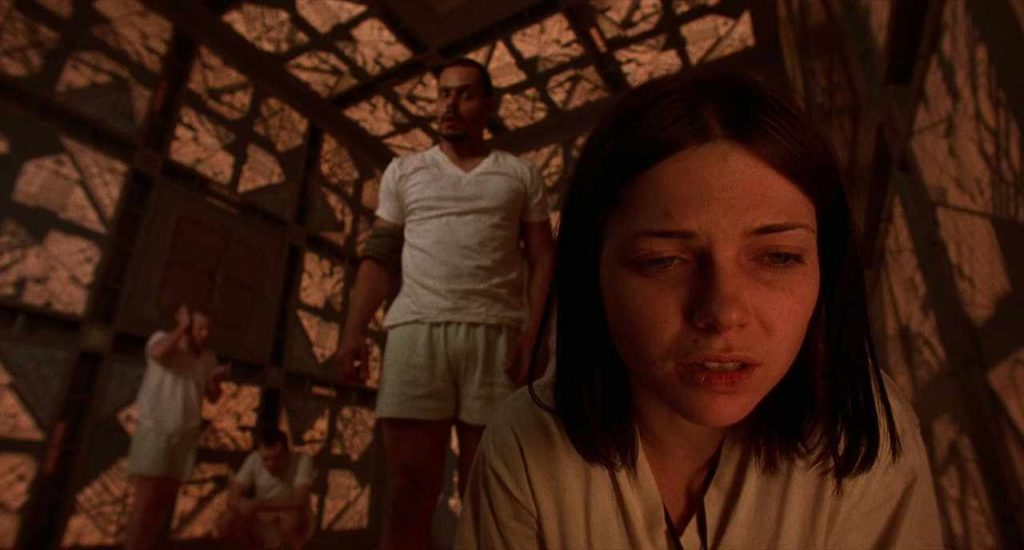 A scene from 'Cube.'