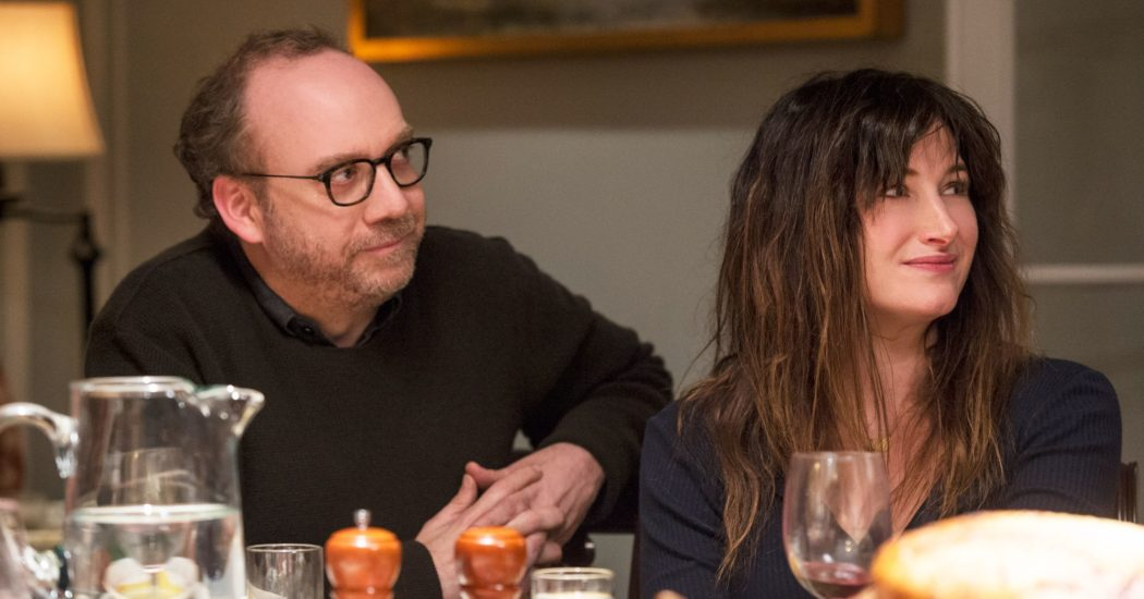 Paul Giamatti and Kathryn Hahn star in Private Life.