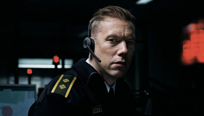 Jakob Cedergren in The Guilty from Director Gustav Moller (Denmark).