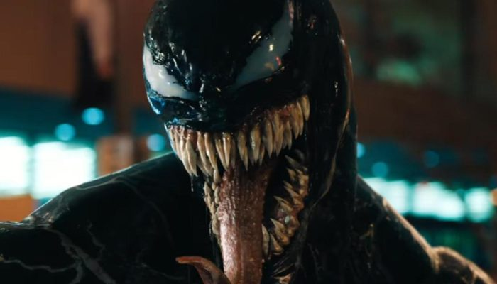 Marvel's Venom. Image courtesy of Columbia Pictures/Sony Pictures Entertainment.