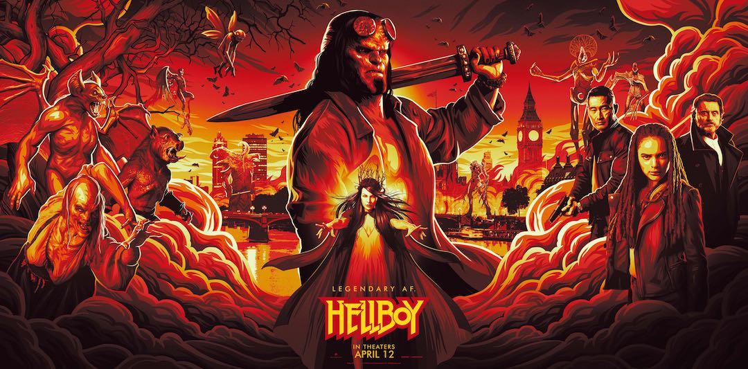 Hellboy NYCC Specialty Banner