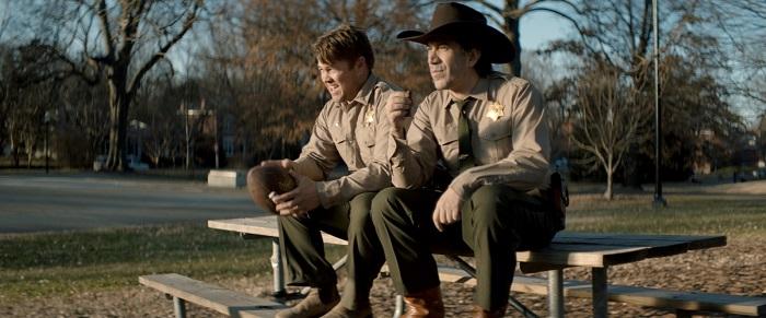 Luke Hemsworth and Gianni Capaldi in River Runs Red, courtesy Cinedigm.