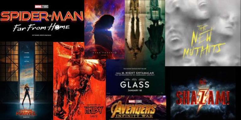 Superhero Movies 2019