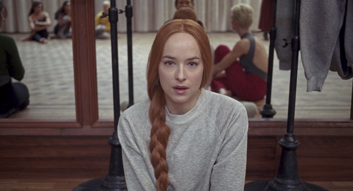 Dakota Johnson stars in Suspiria. Photo Credit: Courtesy of Amazon Studios.