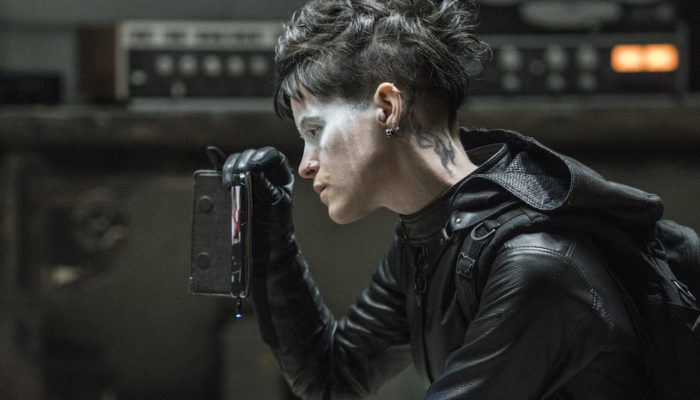 Lisbeth Salander (Claire Foy) in Columbia Pictures' THE GIRL IN THE SPIDER'S WEB. Photo Credit: Reiner Bajo; © 2018 CTMG, Inc. All Rights Reserved. **ALL IMAGES ARE PROPERTY OF SONY PICTURES ENTERTAINMENT INC. FOR PROMOTIONAL USE ONLY. SALE, DUPLICATION OR TRANSFER OF THIS MATERIAL IS STRICTLY PROHIBITED.