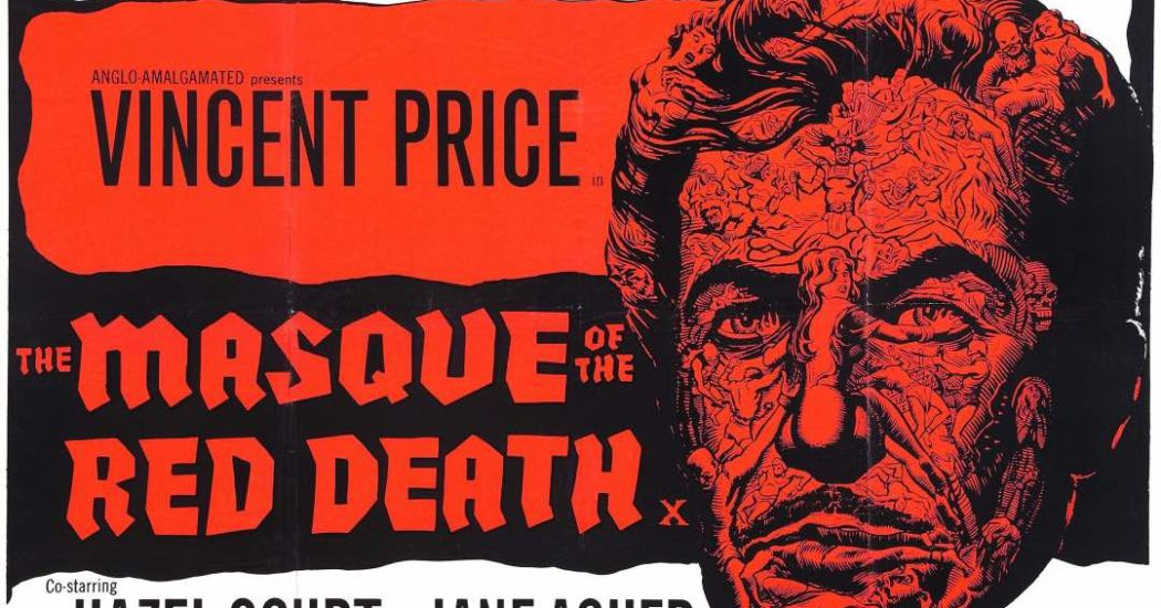 Roger Corman's The Masque Of The Red Death Poster