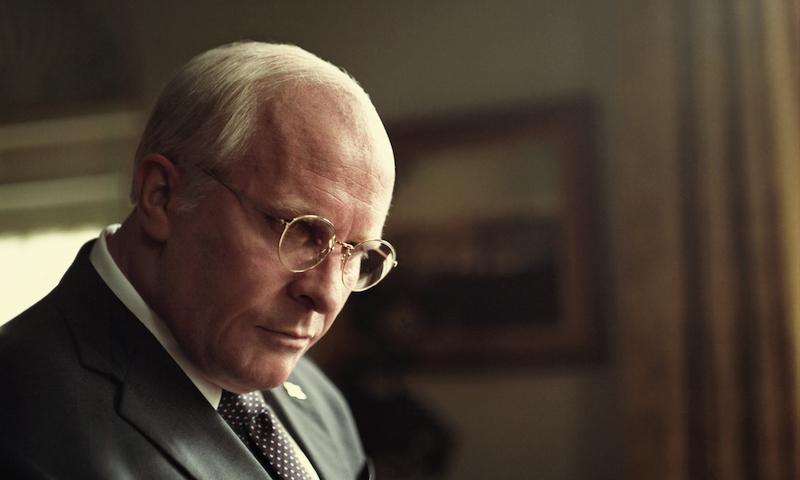 Christian Bale as Dick Cheney in Adam McKay's VICE, an Annapurna Pictures release. Credit : Greig Fraser / Annapurna Pictures 2018 © Annapurna Pictures, LLC. All Rights Reserved.