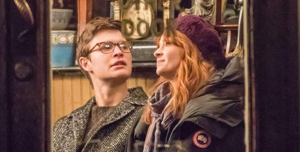 Ashleigh Cummings and Ansel Elgort in The Goldfinch (2019)