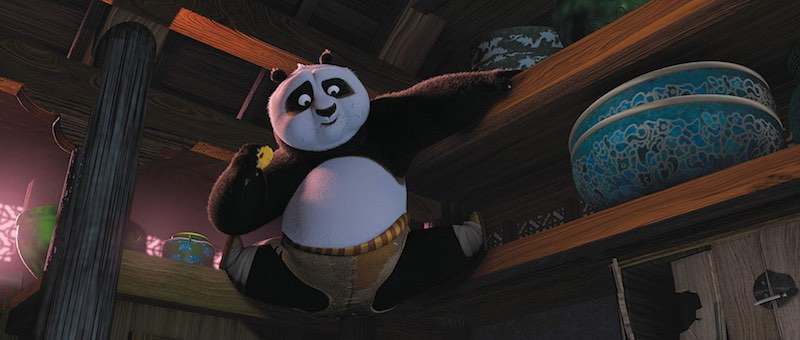 Jack Black in Kung Fu Panda (2008)