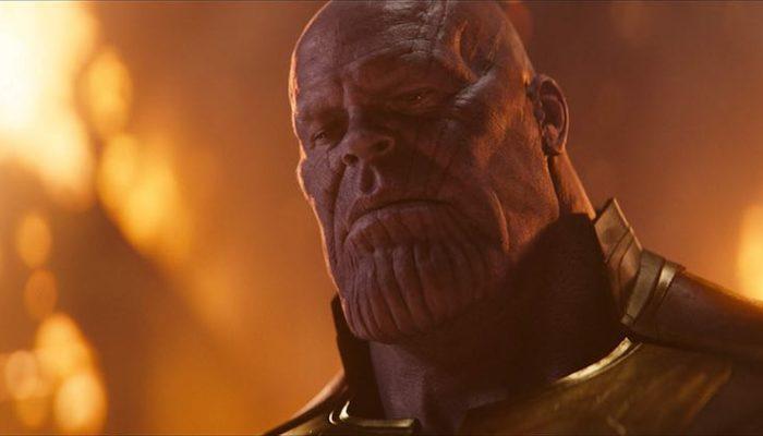 Josh Brolin as Thanos in Avengers Infinity War