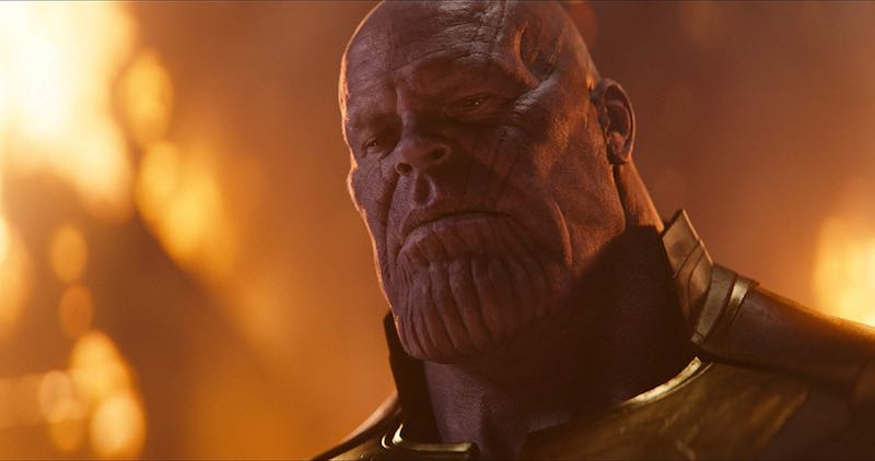 Josh Brolin as Thanos in Avengers Infinity War