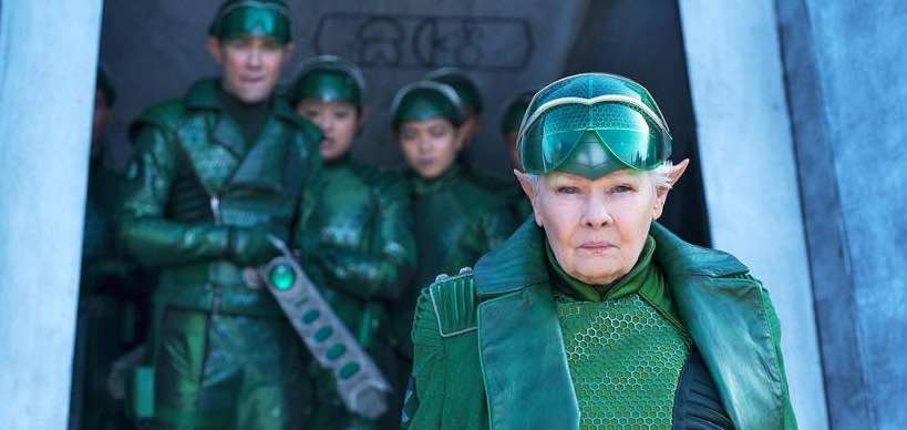 Judi Dench in Artemis Fowl as Commander Root