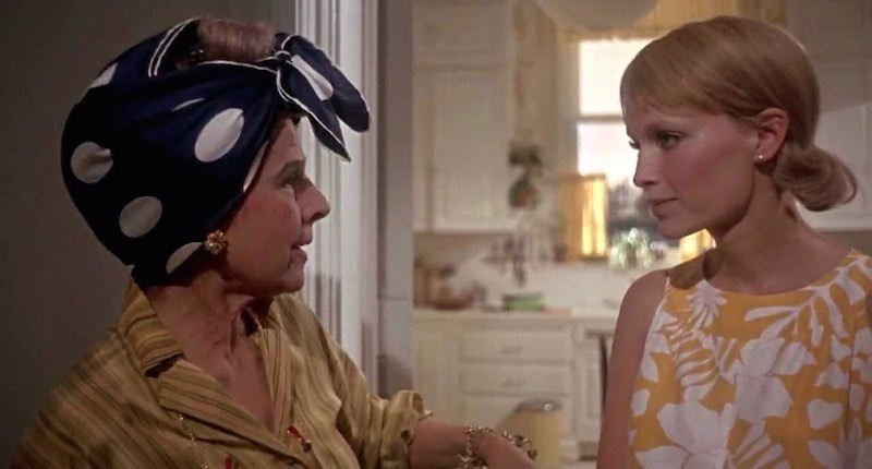 Mia Farrow and Ruth Gordon in Rosemary's Baby (1968)