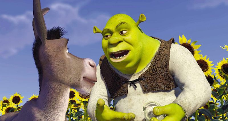 Mike Myers and Eddie Murphy in Shrek (2001)