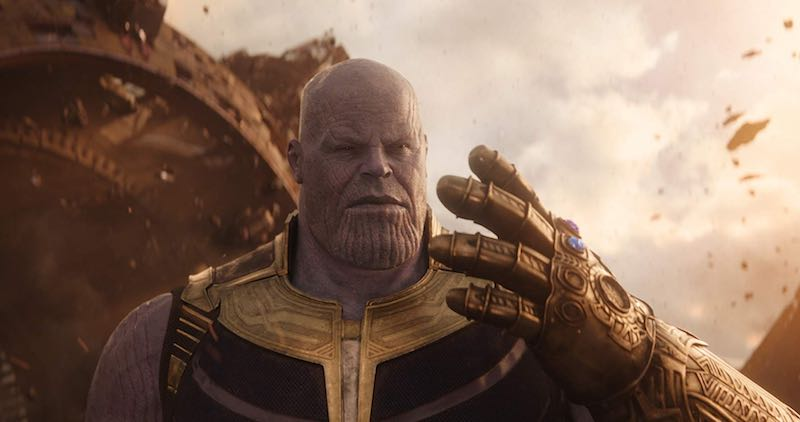 Thanos (Josh Brolin) In the most memorable film of 2018, Avengers Infinity War