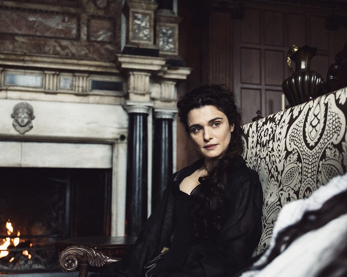 Rachel Weisz in the film THE FAVOURITE. Photo by Yorgos Lanthimos. © 2018 Twentieth Century Fox Film Corporation All Rights Reserved