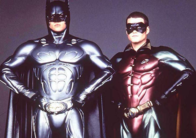 Val Kilmer and Chris O'Donnell in Batman Forever