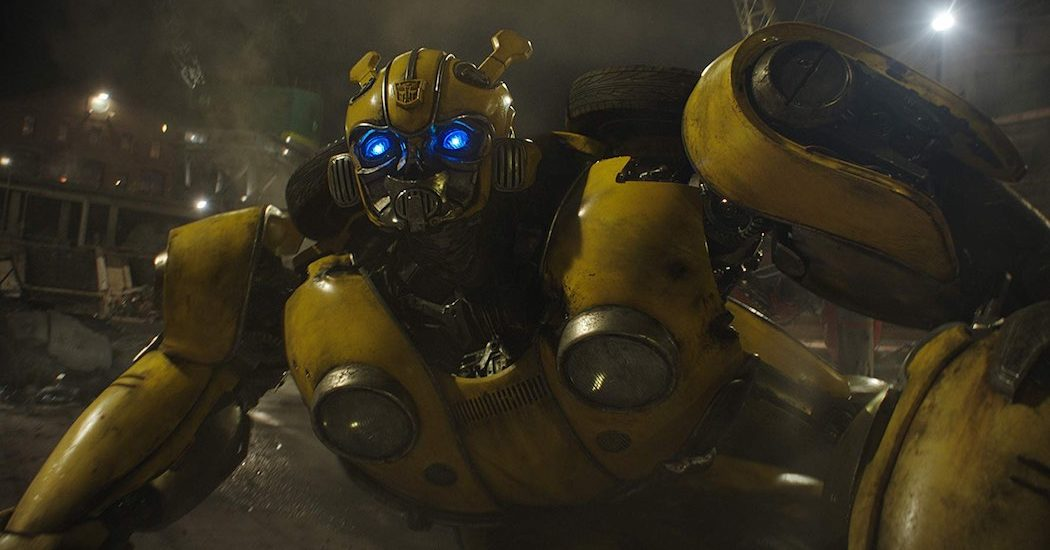 Bumblebee. Photo Credit: Paramount Pictures - © 2018 Paramount Pictures. All Rights Reserved. HASBRO, TRANSFORMERS, and all related characters are trademarks of Hasbro.