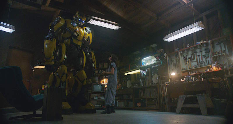 Hailee Steinfeld in Bumblebee. Photo Credit: Paramount Pictures - © 2018 Paramount Pictures. All Rights Reserved. HASBRO, TRANSFORMERS, and all related characters are trademarks of Hasbro.