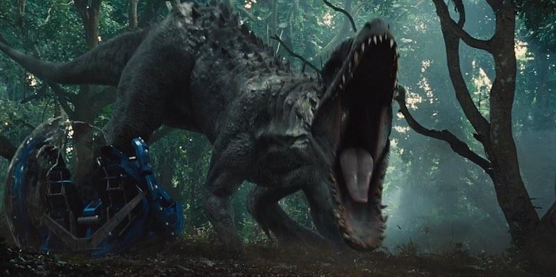 Indominus Rex in Jurassic World