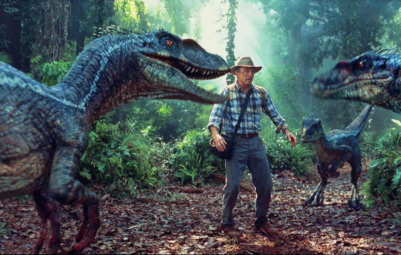 Velociraptors in Jurassic Park 3