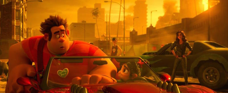 A scene from Ralph Breaks the Internet.