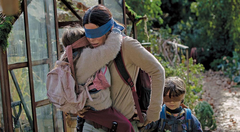 Sandra Bullock in Bird Box. Netflix.
