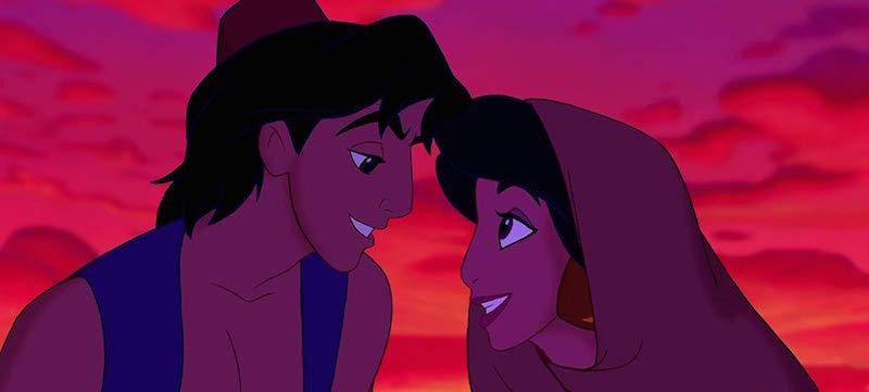 Brad Kane, Linda Larkin, Lea Salonga, and Scott Weinger in Aladdin (1992)