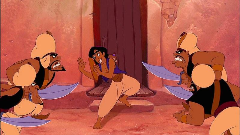 Brad Kane in Aladdin (1992)