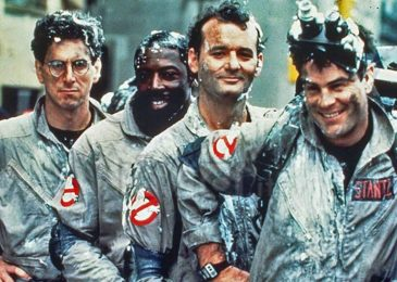 Dan Aykroyd, Bill Murray, Harold Ramis, Ernie Hudson in Ghost Busters (1984)