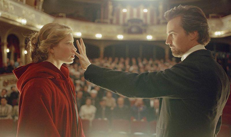 Edward Norton and Jessica Biel in The Illusionist (2006)
