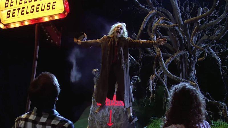 Geena Davis, Alec Baldwin, and Michael Keaton in Beetlejuice (1988)
