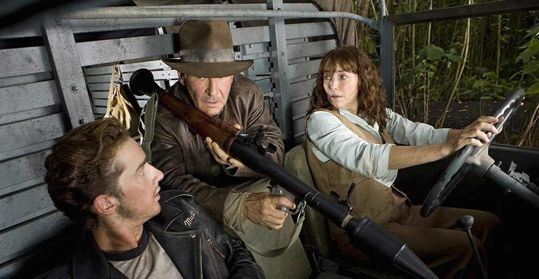 Harrison Ford, Karen Allen, and Shia LaBeouf in Indiana Jones and the Kingdom of the Crystal Skull (2008)