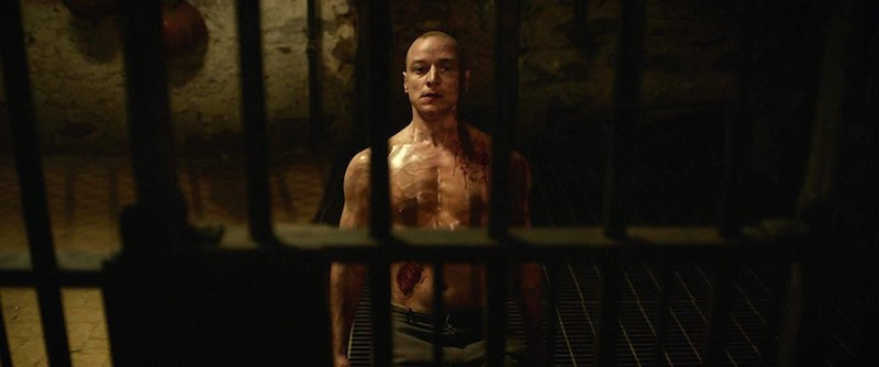 James McAvoy as The Beast in Split