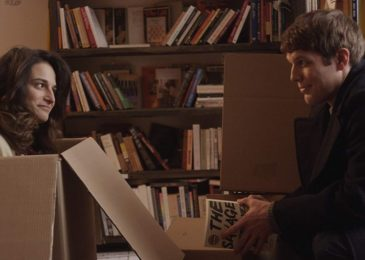 Jenny Slate and Jake Lacy in Obvious Child (2014)