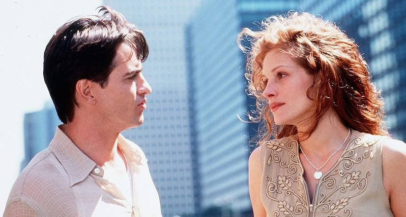 Julia Roberts and Dermot Mulroney in My Best Friend's Wedding (1997)